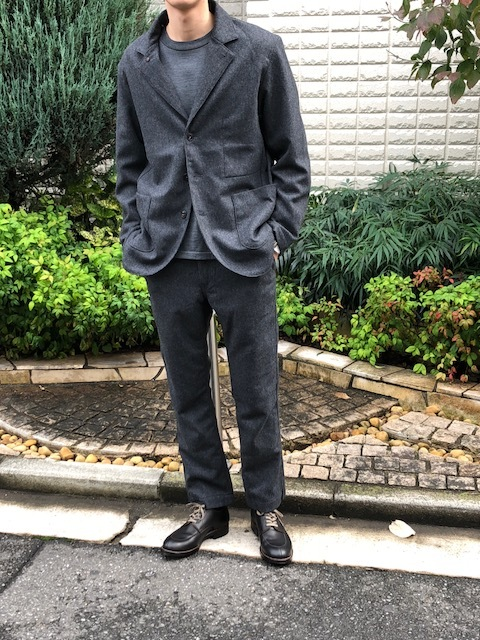 KATO\' BASIC  flannel3B Jacket & trousers _a0222424_21430501.jpg