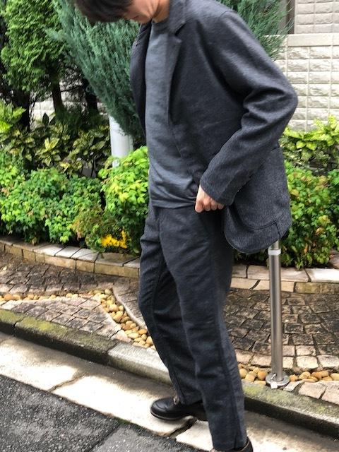 KATO\' BASIC  flannel3B Jacket & trousers _a0222424_21433003.jpg