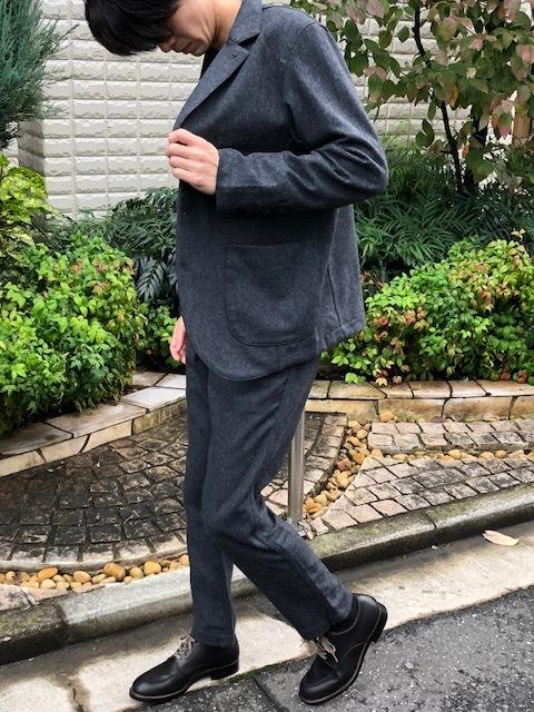 KATO\' BASIC  flannel3B Jacket & trousers _a0222424_21433974.jpg