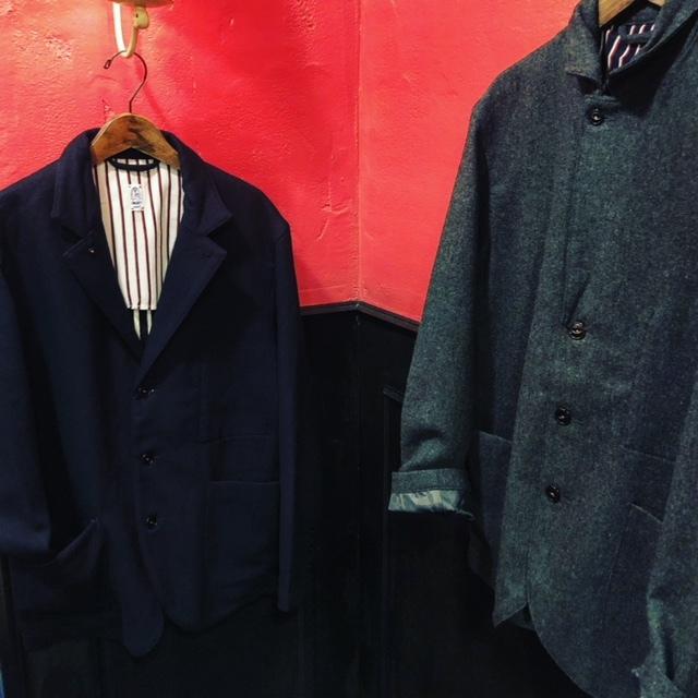 KATO\' BASIC  flannel3B Jacket & trousers _a0222424_21491096.jpg