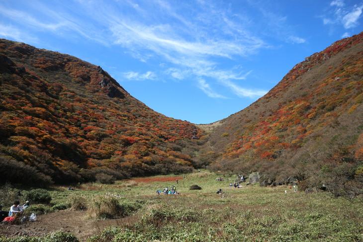 三俣山の紅葉に感動する!(令和元年10月22日)_e0272335_19301520.jpg