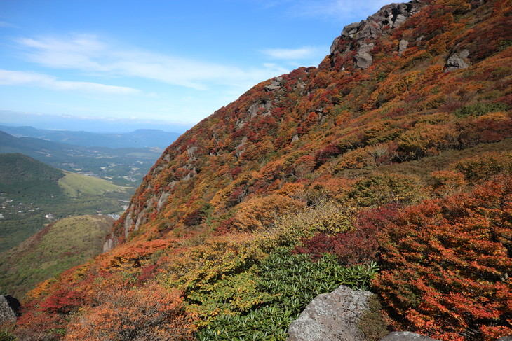 三俣山の紅葉に感動する!(令和元年10月22日)_e0272335_20302769.jpg