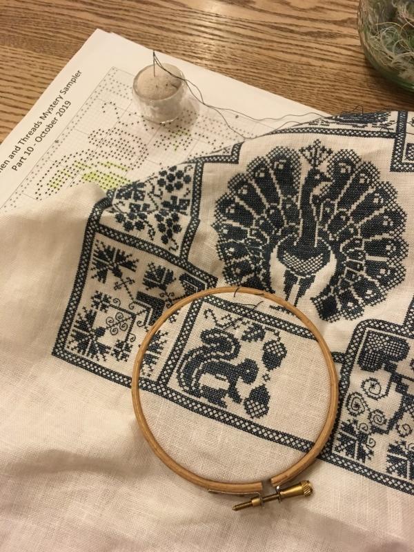 Linen and Threads Mystery Sampler 16_a0374562_21115340.jpeg