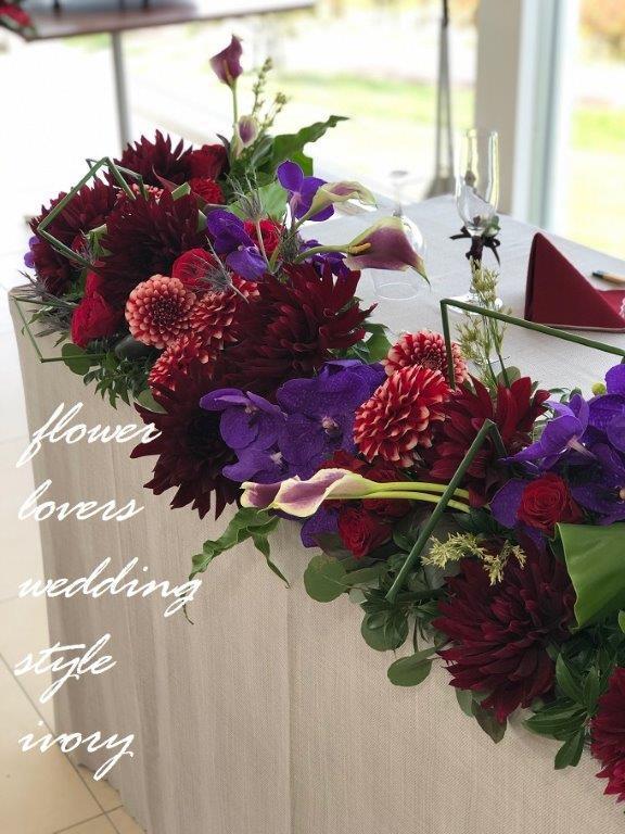 週末の婚礼から〜♬_b0094378_20074359.jpeg