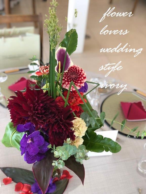 週末の婚礼から〜♬_b0094378_20201842.jpeg