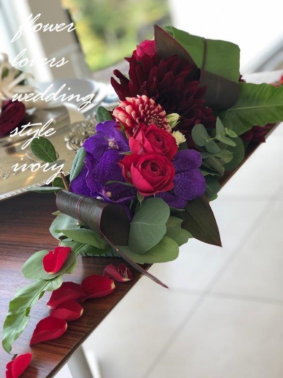 週末の婚礼から〜♬_b0094378_20203140.jpeg