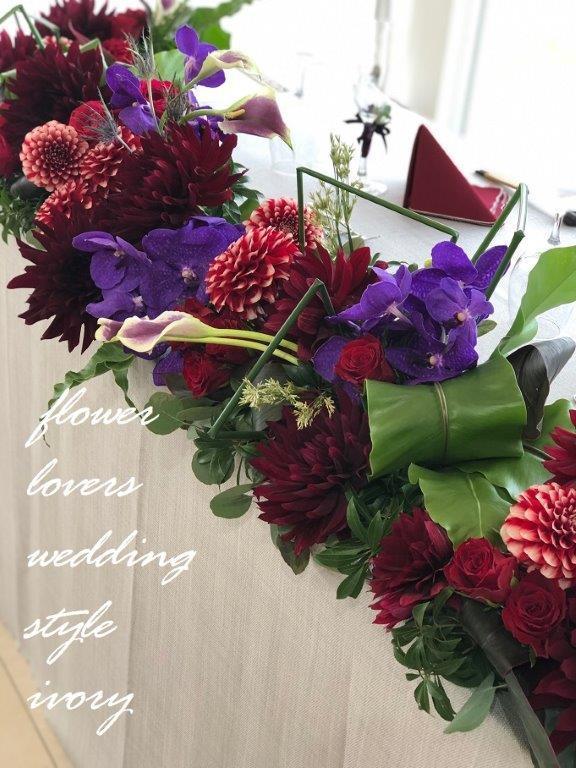 週末の婚礼から〜♬_b0094378_20204743.jpeg