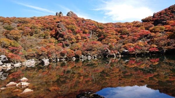 秋のくじゅう大船山紅葉登山_e0262382_21184451.jpg