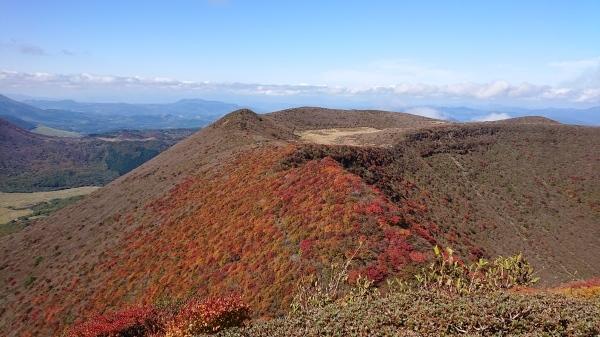 秋のくじゅう大船山紅葉登山_e0262382_21231496.jpg