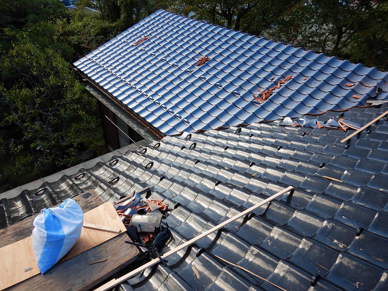 ■瓦屋根改修工事■_e0188083_23050150.jpg