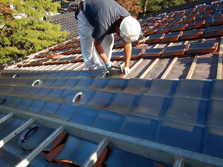 ■瓦屋根改修工事■_e0188083_23053529.jpg
