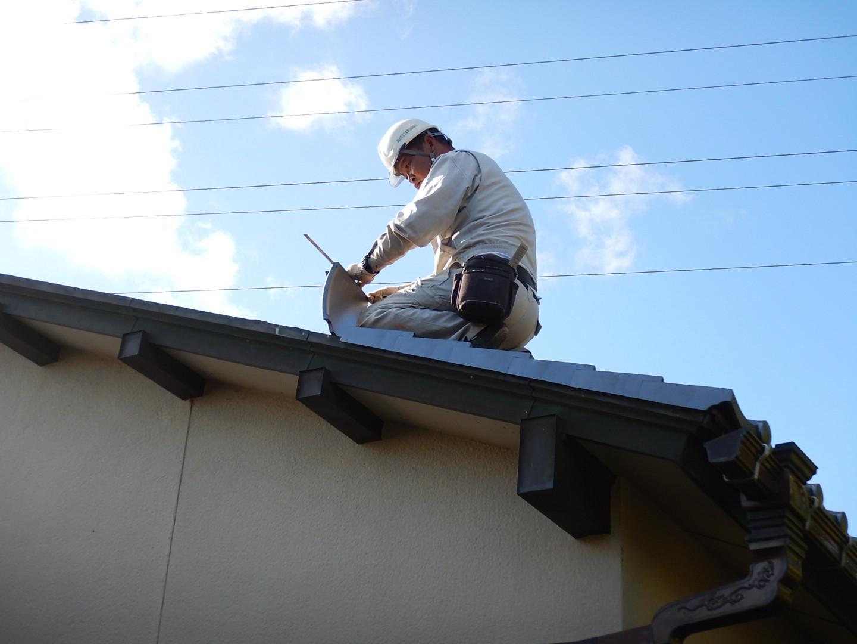 ■瓦屋根改修工事■_e0188083_23060653.jpg