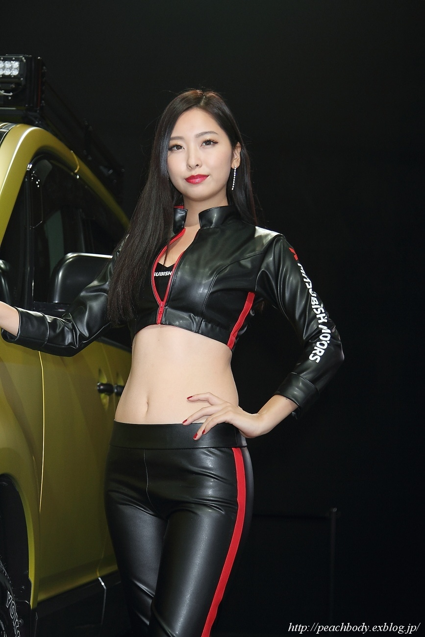 南 真琴 さん(三菱自動車 ブース) - Peach Body