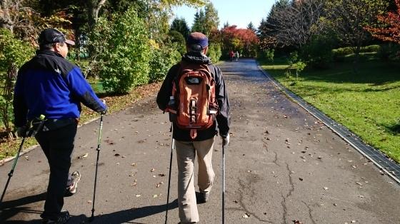 川下公園でノルディック、秋晴れのもと終了^-^!_d0198793_14010920.jpg