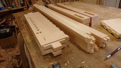 1400×850mm ダイニングテーブル製作 その1_a0061599_21211009.jpg