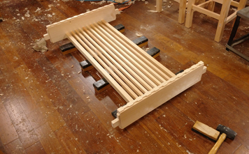 1400×850mm ダイニングテーブル製作 その1_a0061599_21215883.jpg