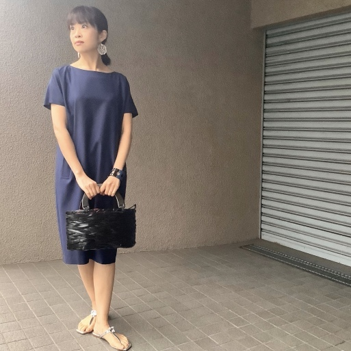 りえさん着画集・ウールワンピース(最終回)_b0210699_02190851.jpeg