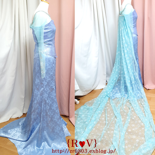 Frozen アナと雪の女王  フローズン- エルサ_b0273504_23521238.jpg