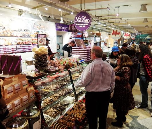 NYの老舗チョコレート屋、ライラック(Lilac)のGrand Central Market店_b0007805_06091946.jpg