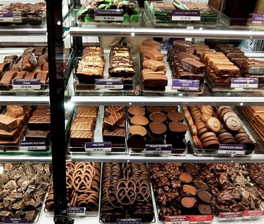 NYの老舗チョコレート屋、ライラック(Lilac)のGrand Central Market店_b0007805_06184113.jpg