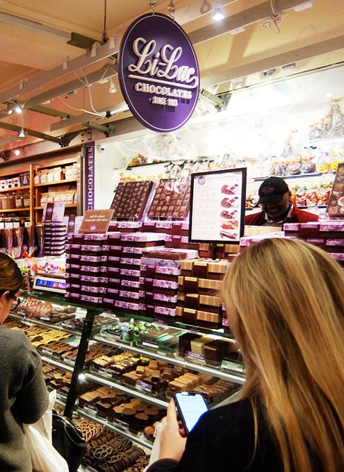 NYの老舗チョコレート屋、ライラック(Lilac)のGrand Central Market店_b0007805_06223279.jpg