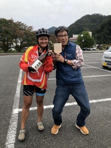 ハワイからサイクリングツアーで10名が来町_d0025421_17121886.jpg