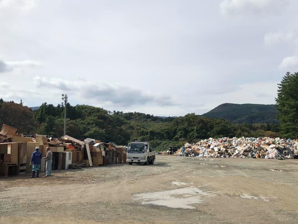 『台風19号 ゴミ問題』_f0259324_20193576.jpg