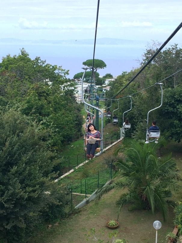 南イタリアユキキーナツアー2日目① カプリ島→ソレント_d0041729_00061689.jpg