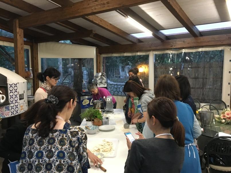 南イタリアユキキーナツアー2日目② レモン農家で料理レッスン_d0041729_21191023.jpg