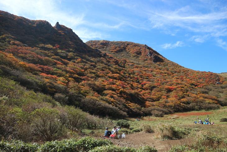 三俣山の紅葉に感動する!(令和元年10月22日)_e0272335_5293617.jpg