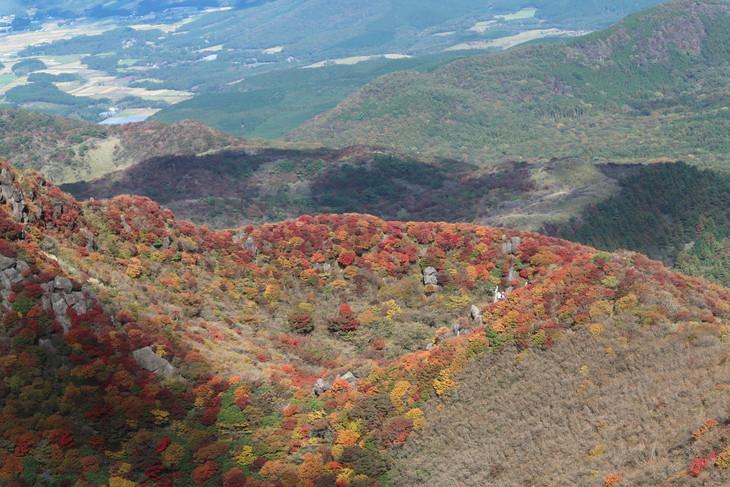 三俣山の紅葉に感動する!(令和元年10月22日)_e0272335_7455569.jpg