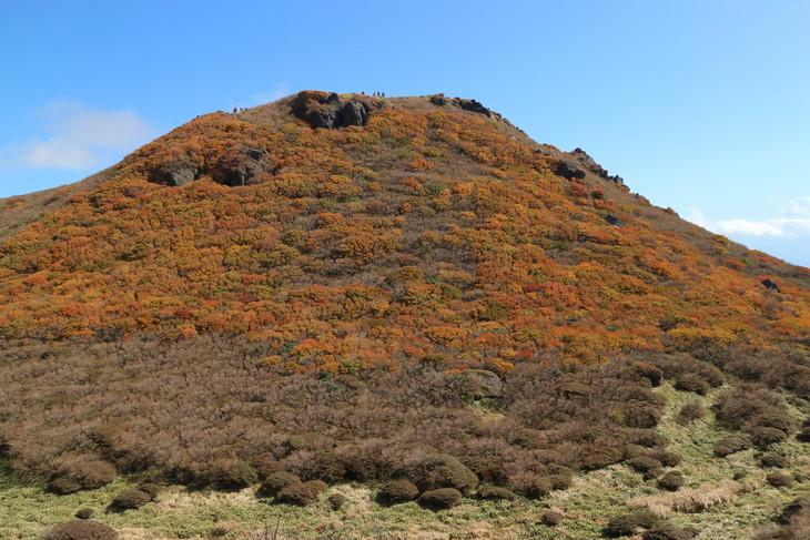 三俣山の紅葉に感動する!(令和元年10月22日)_e0272335_7501392.jpg
