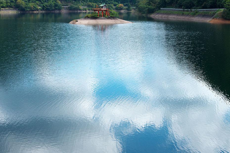 初秋の銀山湖_c0067040_21455554.jpg