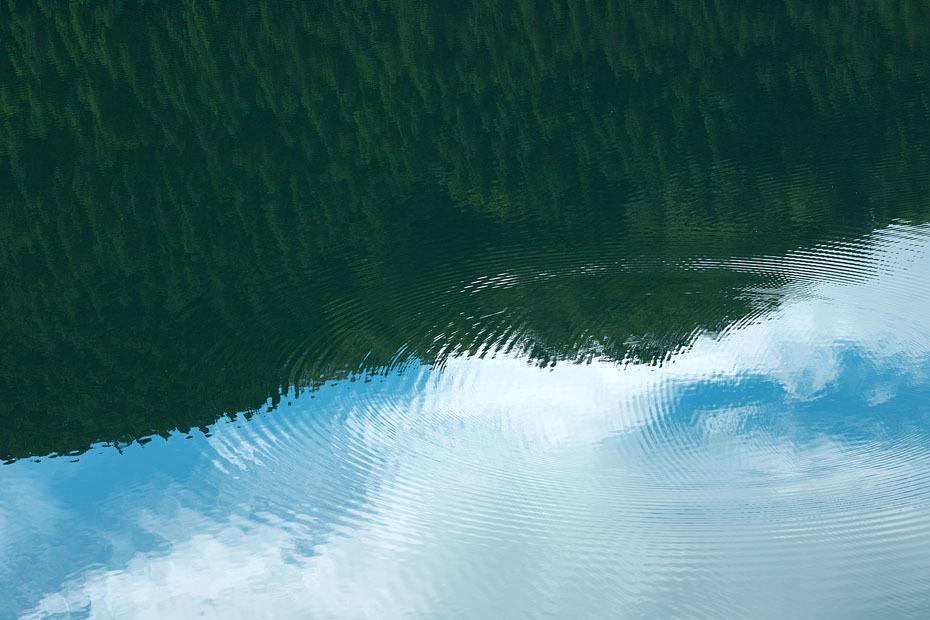 初秋の銀山湖_c0067040_21460512.jpg
