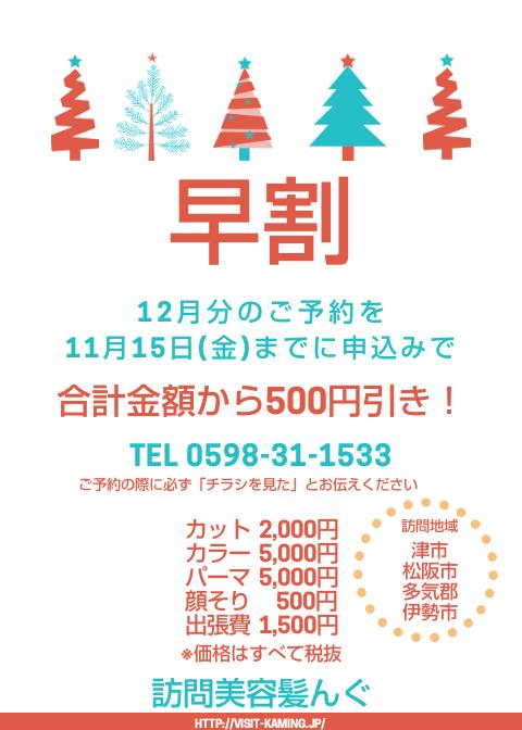 12月のご予約はお早めに☆今なら早割キャンペーン中!_f0277245_11445919.png