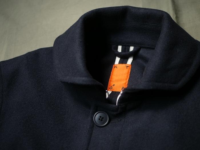 KATO\' Round Collar Single P-Coat_e0247148_18314945.jpg