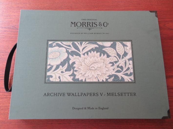 モリス 壁紙『メルセッター』 ウィリアムモリス正規販売店のブライト_c0157866_18110796.jpg