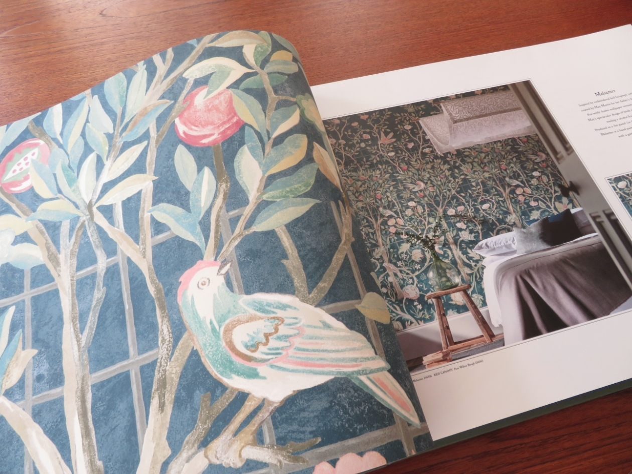 モリス 壁紙『メルセッター』 ウィリアムモリス正規販売店のブライト_c0157866_18123964.jpg