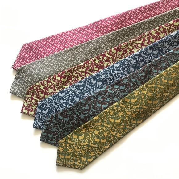 山崎織物さん ネクタイと蜻蛉のストール_b0353974_17590881.jpg