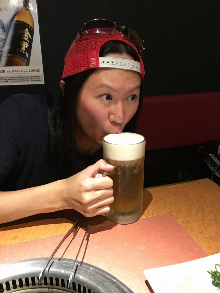 志木 焼肉牛楽&家系ラーメン武蔵_d0061678_11480448.jpg