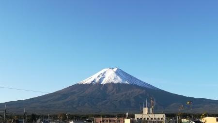 久々の快晴、久々の富士山!_c0193896_10573543.jpg
