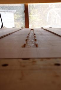 1400×850mm ダイニングテーブル製作 その2_a0061599_22144391.jpg