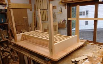 1400×850mm ダイニングテーブル製作 その2_a0061599_22150208.jpg