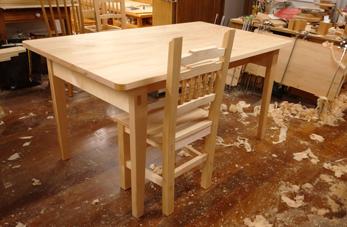 1400×850mm ダイニングテーブル製作 その2_a0061599_22151886.jpg