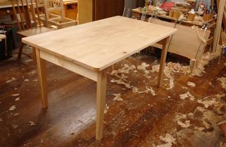 1400×850mm ダイニングテーブル製作 その2_a0061599_22204942.jpg