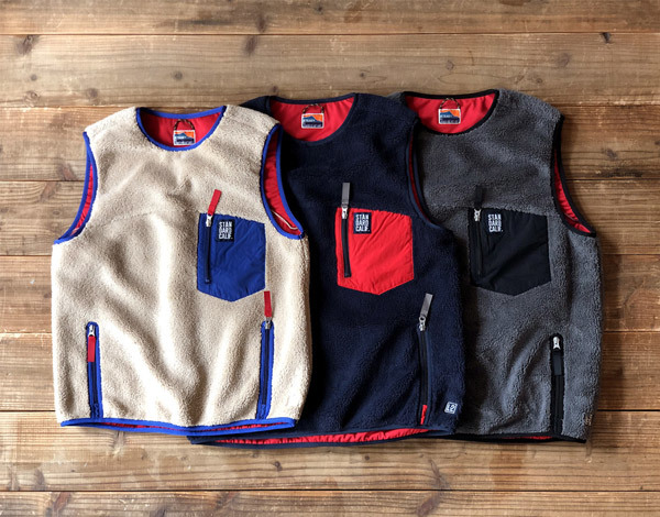 【DELIVERY】 STANDARD CALIFORNIA - Classic Pile Vest_a0076701_11584547.jpg