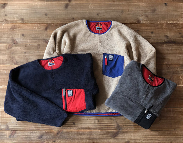 【DELIVERY】 STANDARD CALIFORNIA - Classic Pile Pullover_a0076701_12034111.jpg