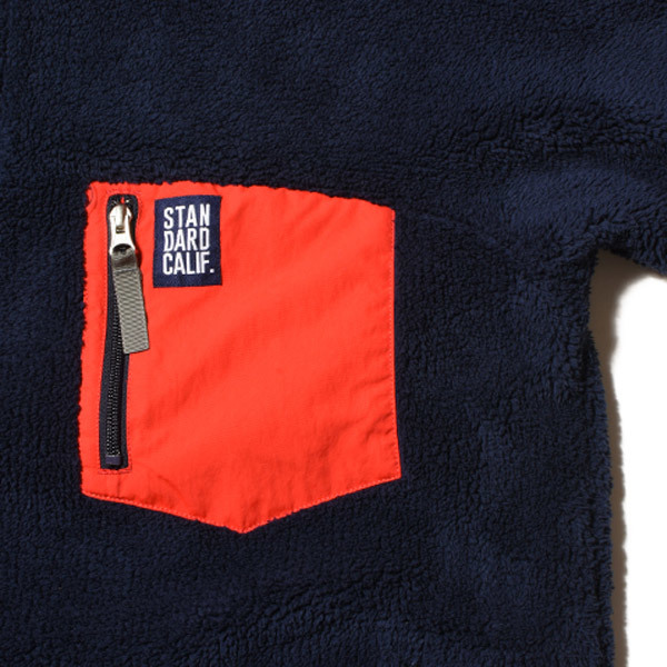 【DELIVERY】 STANDARD CALIFORNIA - Classic Pile Pullover_a0076701_12064761.jpg
