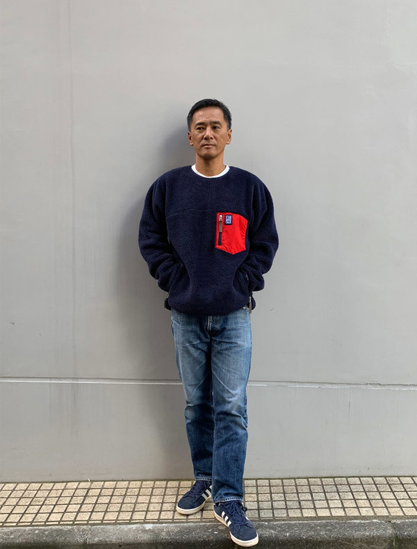 【DELIVERY】 STANDARD CALIFORNIA - Classic Pile Pullover_a0076701_12072241.jpg