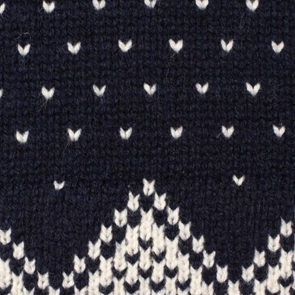 【DELIVERY】 STANDARD CALIFORNIA - Bird\'s Eye Nordic Sweater_a0076701_15375837.jpg